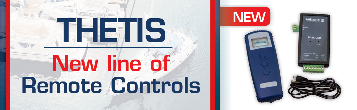 The new Lofrans' line of THETIS Remote Controls and the redesigned Chain Counter IRIS II is an innovative solution!