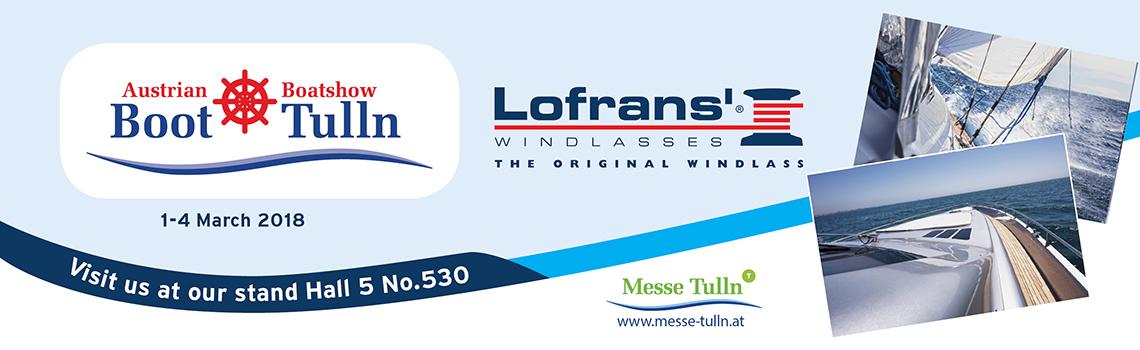 LOFRANS' at BOOT TULLN 2018