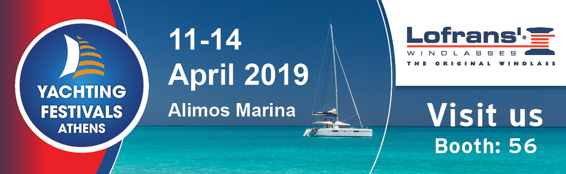 LOFRANS at Athens Yachting Festival 2019