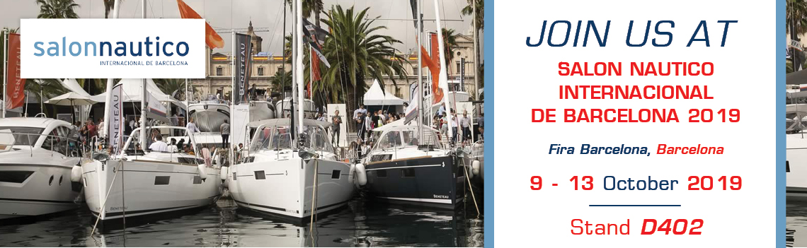 LOFRANS has set sails for Barcelona aiming to present its high quality range to all boat enthusiasts!