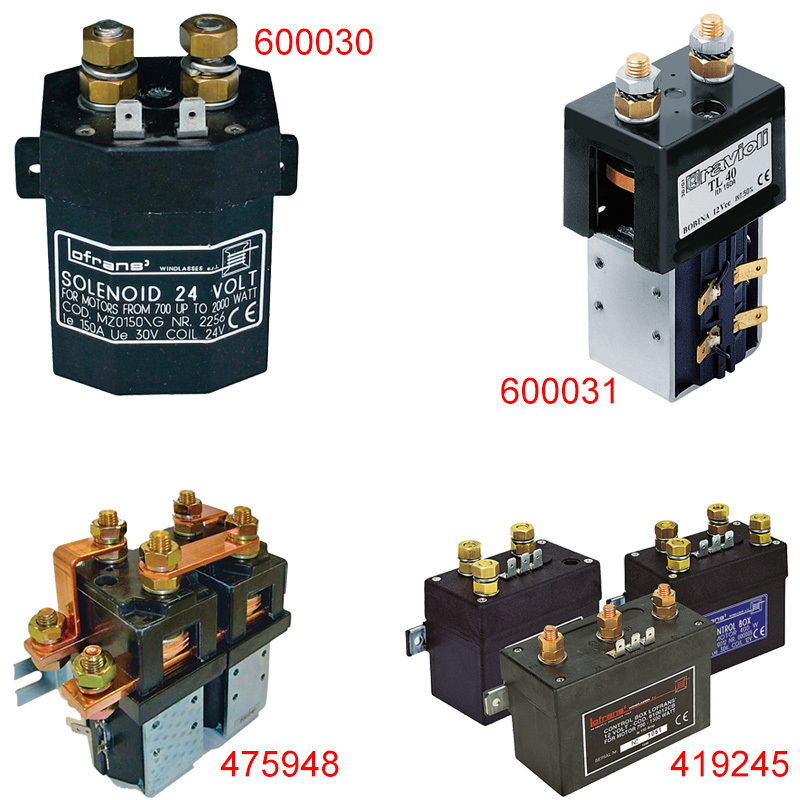Control Boxes - Direction Solenoids
